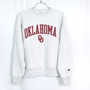 Oklahoma Champion Heather Grey Fleece Pullover
